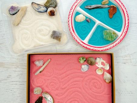 Therapeutic Activity: DIY tabletop Zen Garden