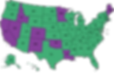 SCAHP SOCIETY Legislative Map purple gre