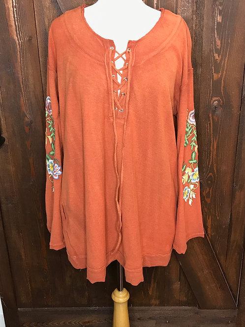 Burnt Orange Pullover