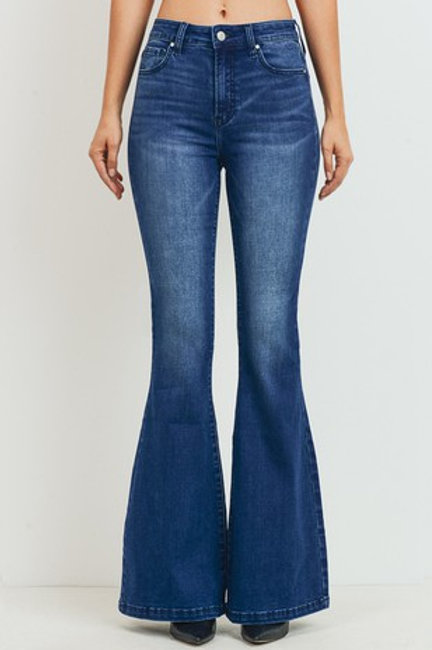 High Rise Wider Flare Jean