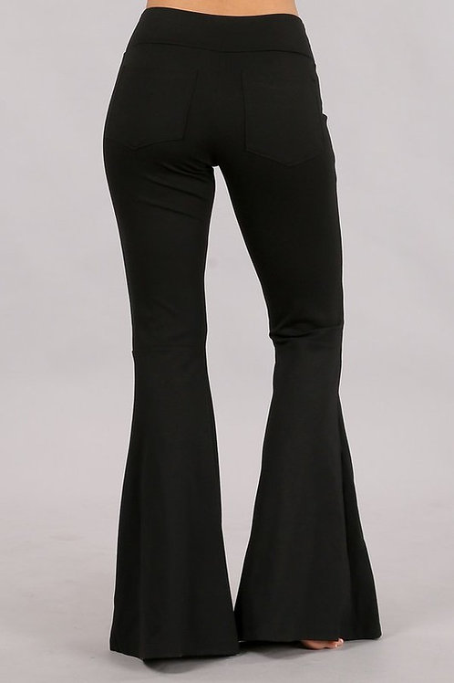Wide Flared Bell Pants