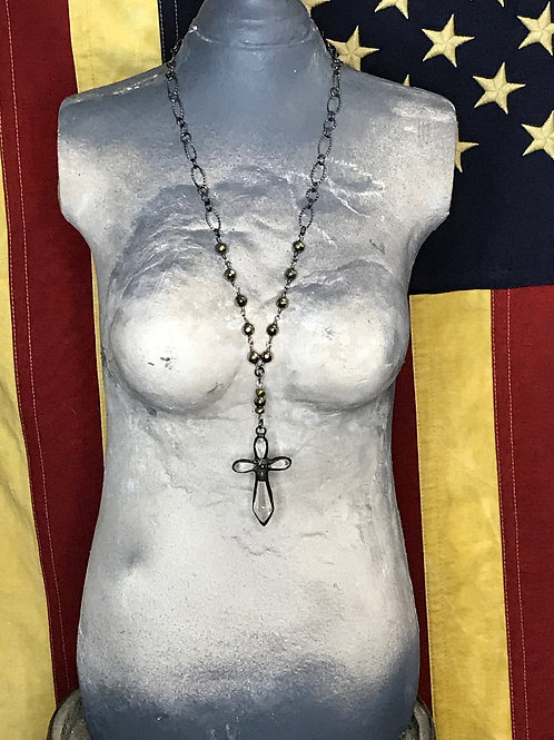 Maggies Cross Necklace