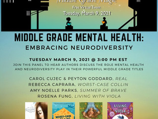 SLJ Middle Grade Mental Health Panel