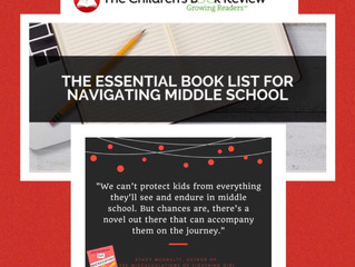 Melwick Orchard included in The Essential Book List for Navigating Middle Grade
