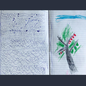 Ilustrated chapter re-write by 5yo