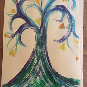 Tree full of love