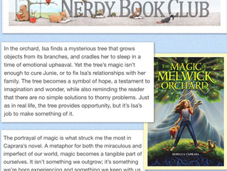 Melwick Review via Nerdy Book Club