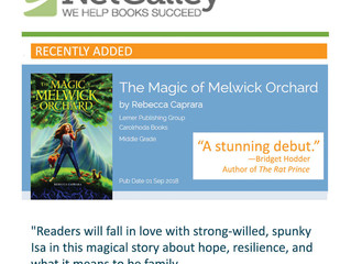 Melwick available for request on NetGalley