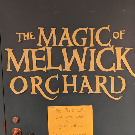 Melwick door @ Blanchard Memorial School