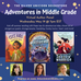 Adventures in Middle Grade: Virtual Author Event