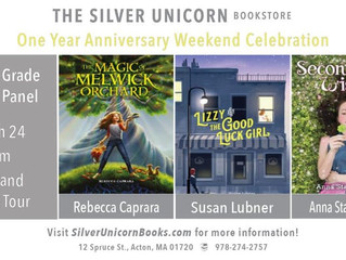 Silver Unicorn Books 1st Anniversary Celebration