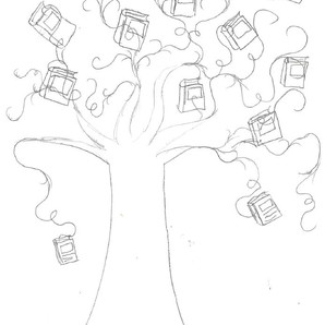 Magic of Melwick Orchard sketch