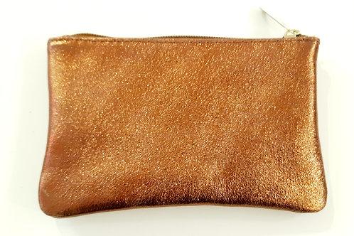 Pochette cuir Les Cleias