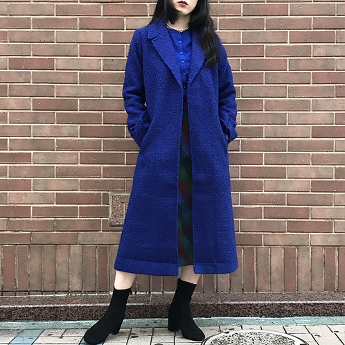 royal blue classical coat