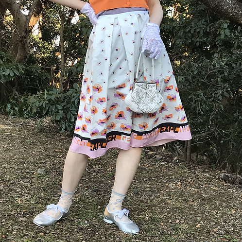 moon flower skirt