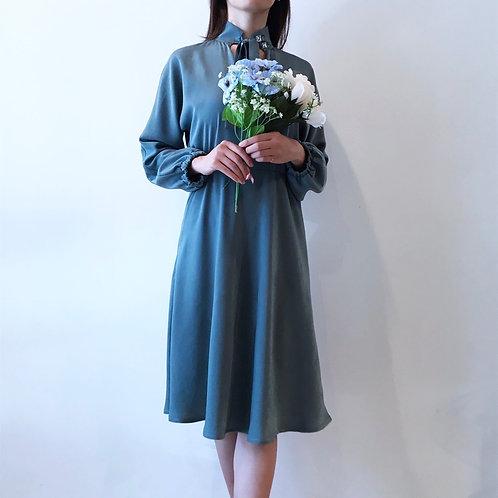 green bijou dress
