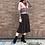 Thumbnail: dusty rose knit cardigan