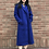 Thumbnail: royal blue classical coat