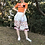 Thumbnail: puff sleeve cardigan(orange)