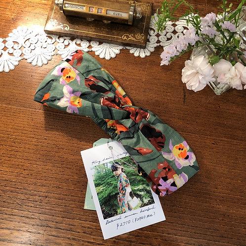 botanical summer hairband