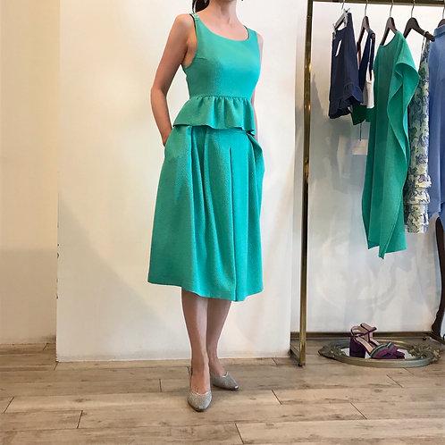 green sleeveless tops