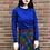 Thumbnail: blue design cardigan