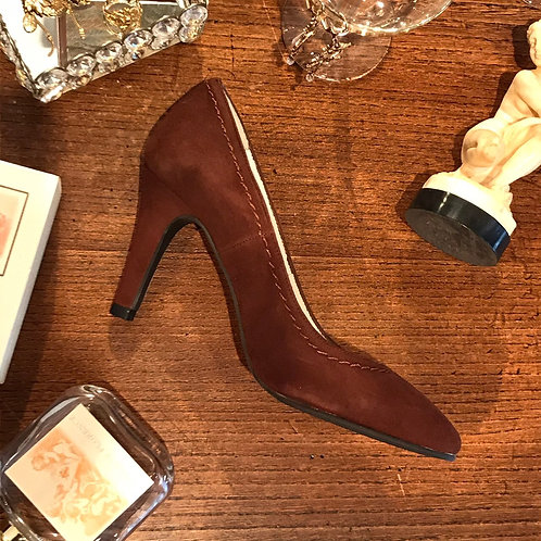 cocoa brown suede shoes