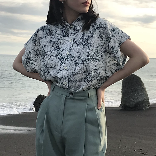 batik print shirts