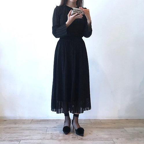 glitter skirt[black]