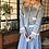 Thumbnail: macaron blue cotton jacket