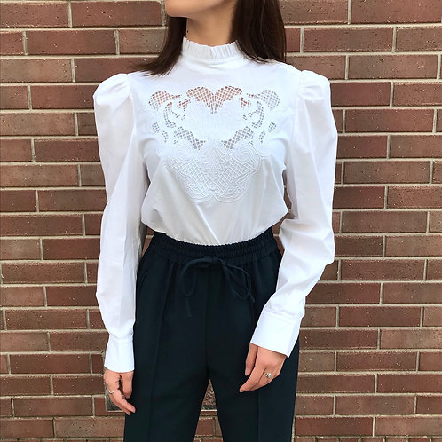 rococo style blouse