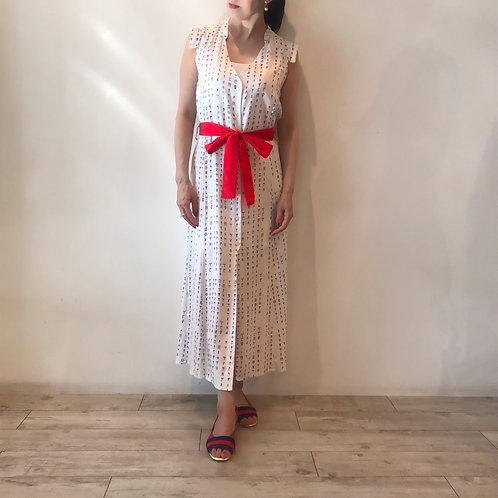 viscose white dress