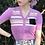 Thumbnail: puff sleeve cardigan(lavender)