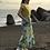 Thumbnail: lime flower print skirt