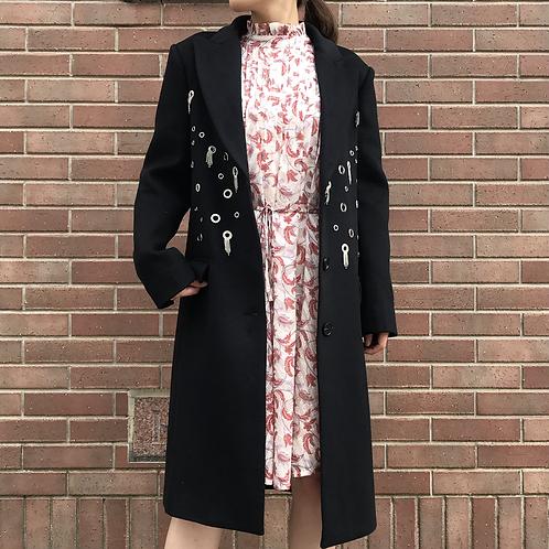 black bijou coat