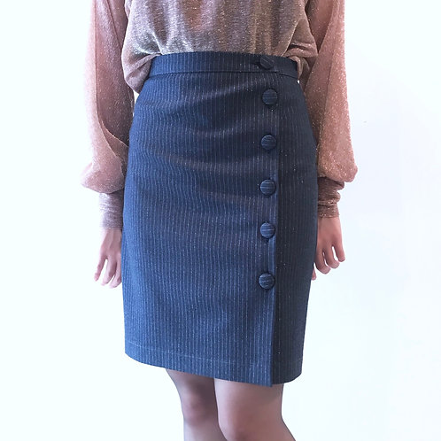 pin stripe skirt