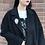 Thumbnail: black bijou coat