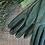 Thumbnail: emerald green leather gloves