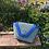 Thumbnail: blue rose leather bag