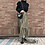 Thumbnail: gold checked skirt