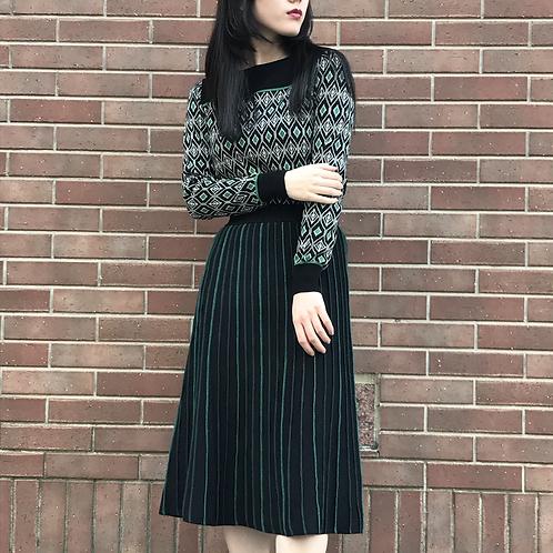 glitter line skirt