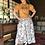 Thumbnail: flower painting skirt