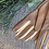 Thumbnail: greige leather gloves
