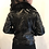 Thumbnail: black fake leather blouson