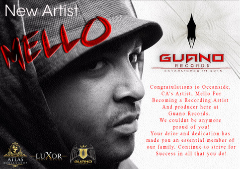 Guano Records adds New Artist to the Roster
