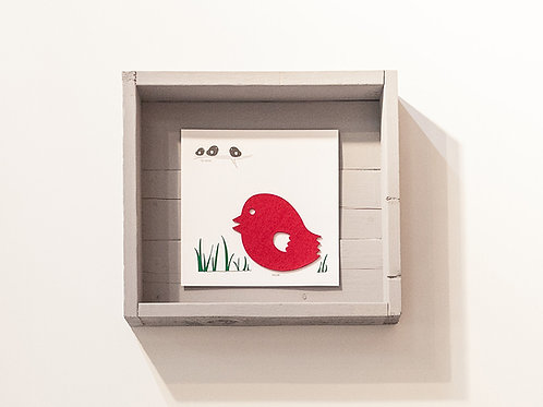 Tweet wall art - Near far away