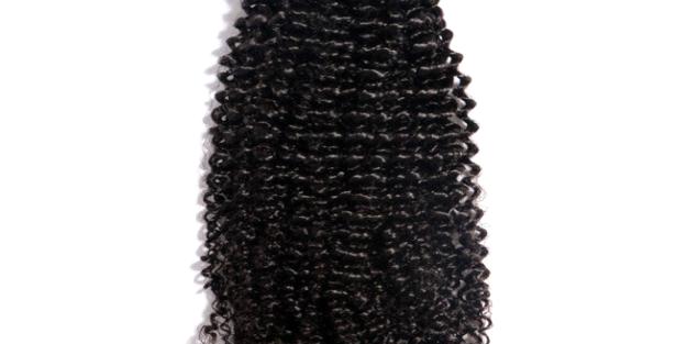 TIGHT CURLY VIRGIN HAIR WEAVE