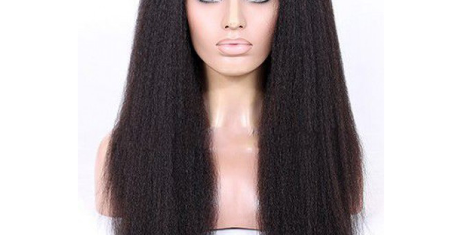 RELAXED STRAIGHT FULL LACE WIG