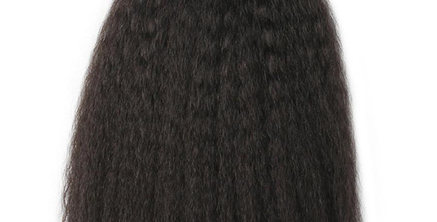 KINKY STRAIGHT VIRGIN HAIR WEAVE