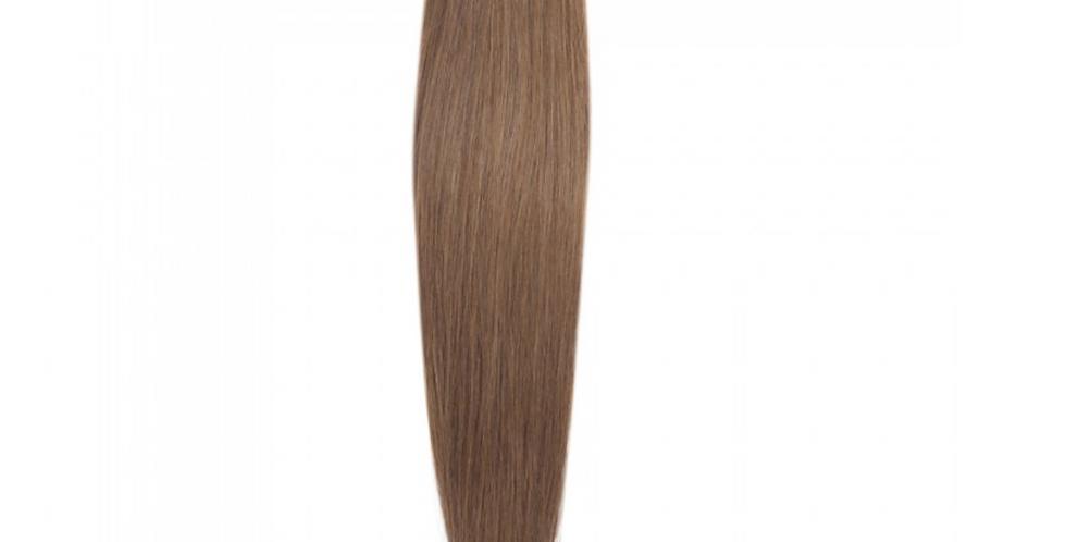 STRAIGHT LIGHT BROWN VIRGIN HAIR WEAVE